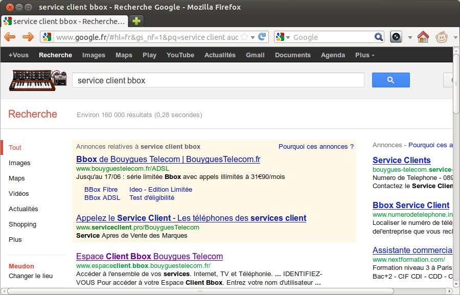 Les arnaques au n de service client surtax sur google - Bnp service client non surtaxe ...