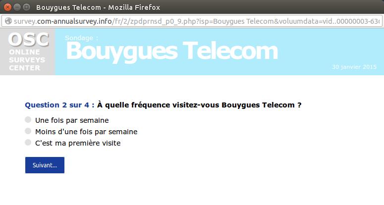 arnaque 7 telecom
