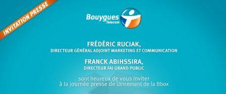 Bouygues Telecom Lance Sa Bbox Offre Adsl