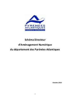 Carte du d ploiement fibre optique dans les pyr n es - Office du tourisme pyrenees atlantiques ...