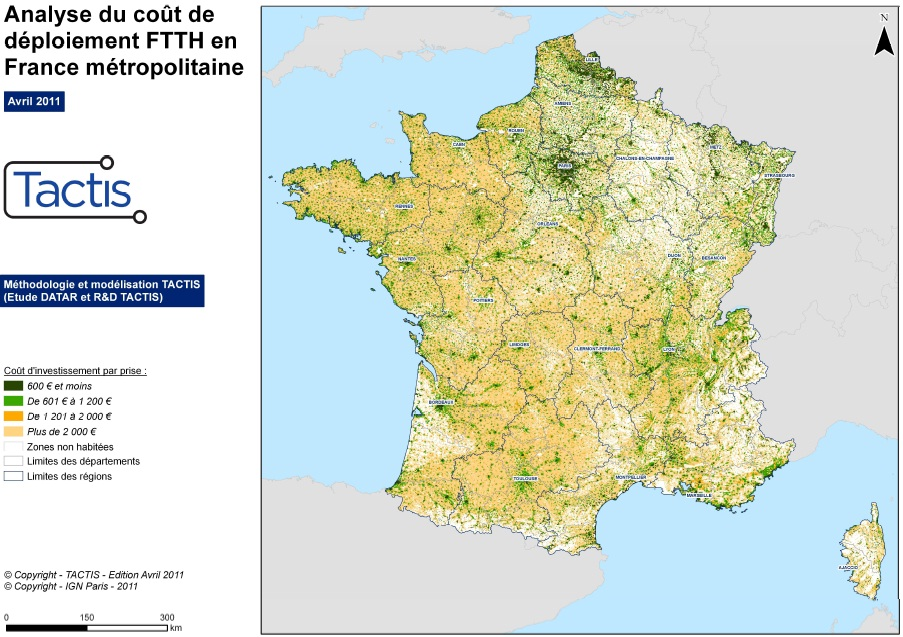 carte du ftth en france. Black Bedroom Furniture Sets. Home Design Ideas