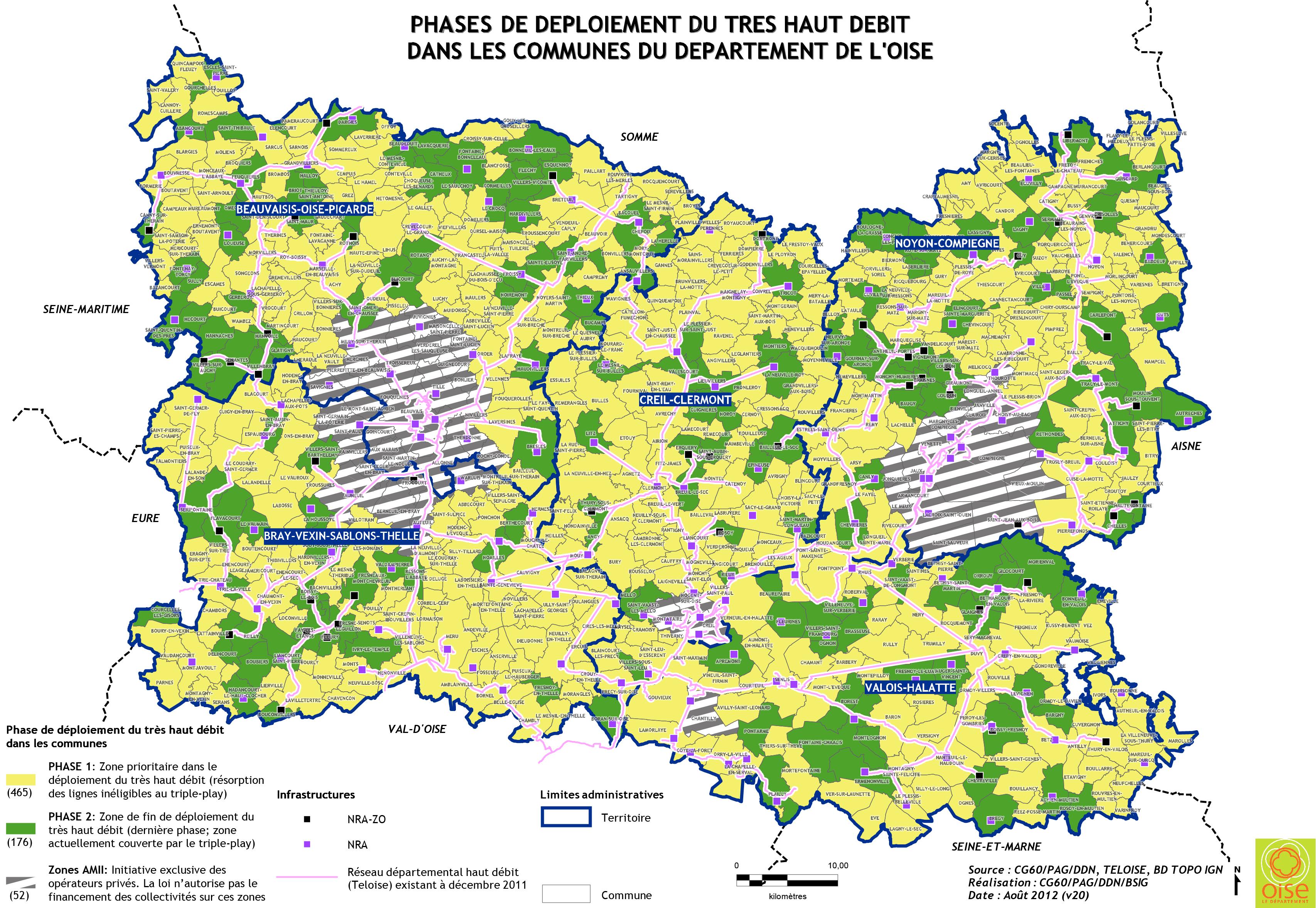 Phase1 date de couverture par commune for Liste communes oise