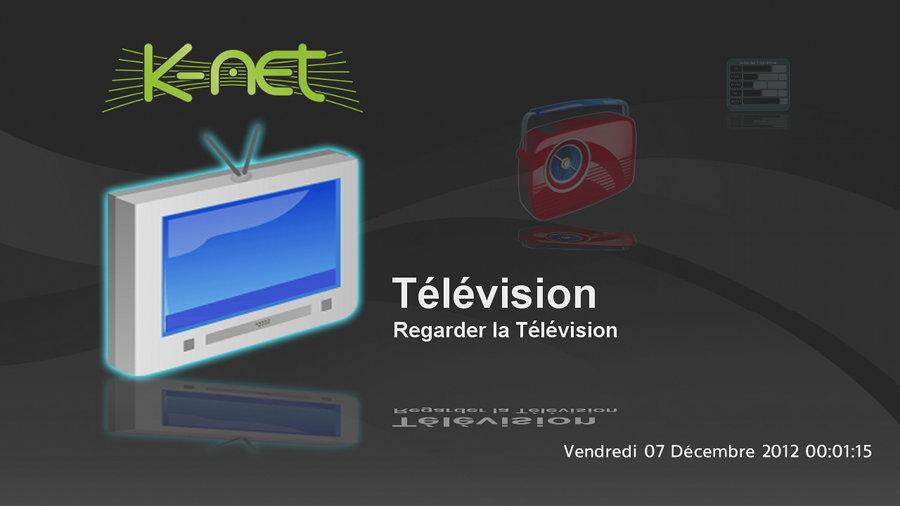 Nouvelle Interface De La Box Tv K Net