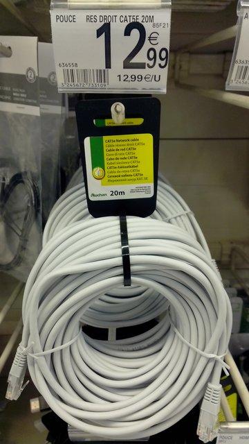 Faire Passer Un Câble Ethernet Dans Une Gaine