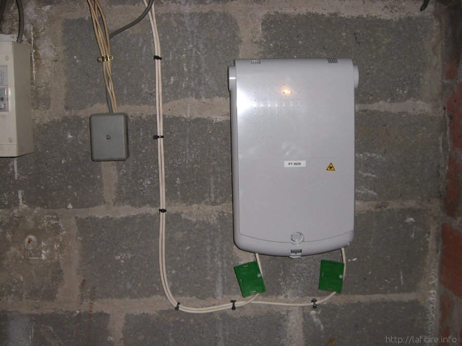 Installation Fttx Multiple En Immeuble Orange Sfr