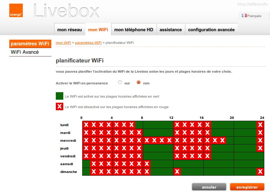 programmer l 39 activation du wifi avec une horloge. Black Bedroom Furniture Sets. Home Design Ideas