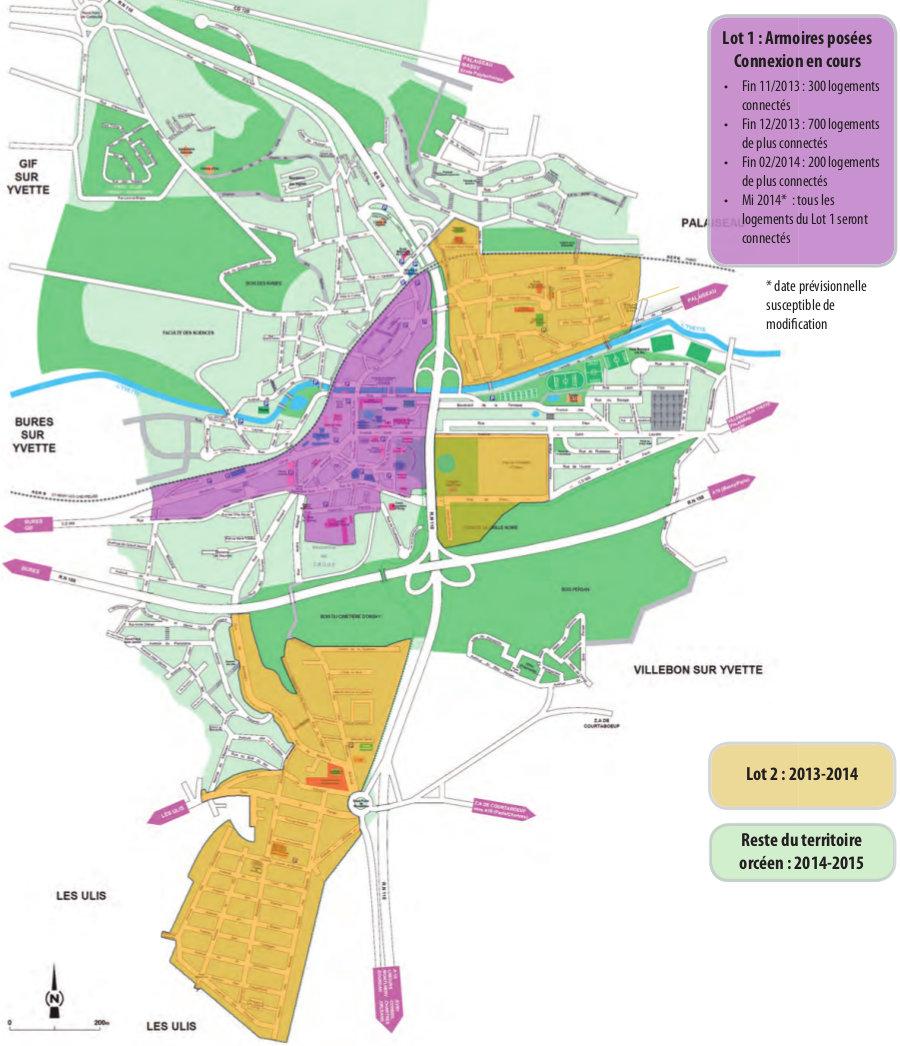 Orsay for Plan bures sur yvette