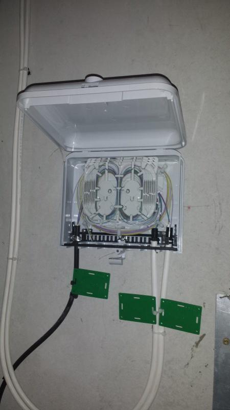 Photos Deploiement Ftth Dans Immeuble Appart En Zmd 31