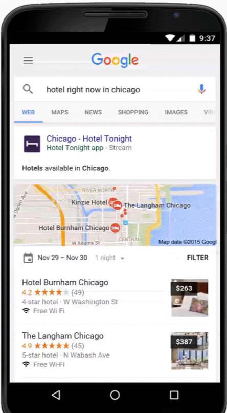 Streaming d 39 app mobile for Reserver hotel pour ce soir