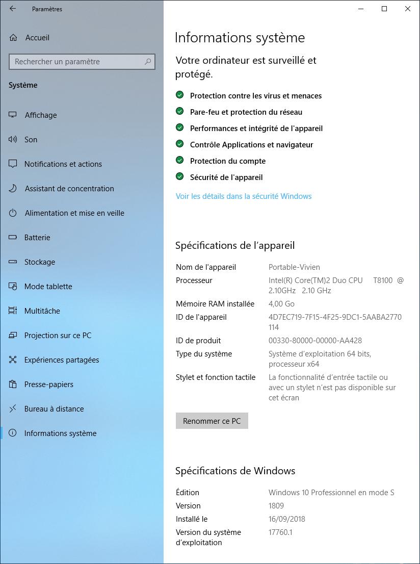 Windows 10 Mode S Est Il Possible D En Sortir